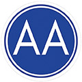 AA meeting sign