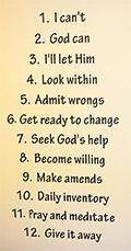 12 steps