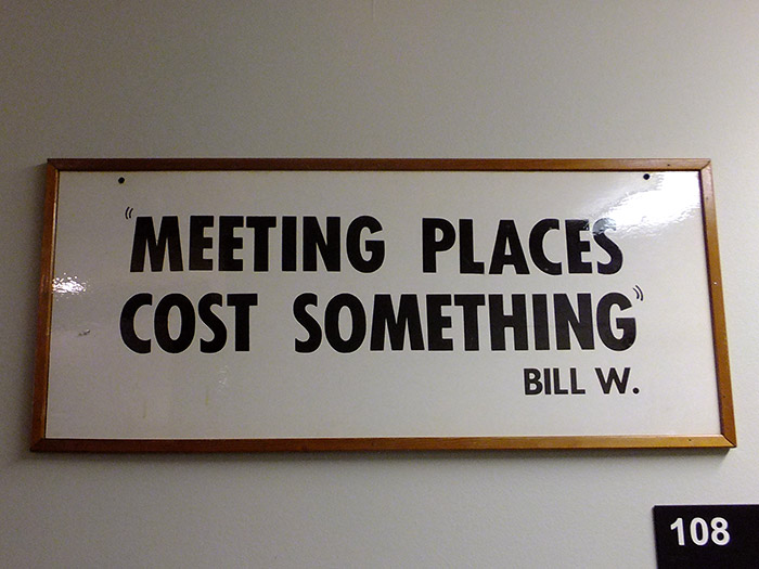 Meeting Place Cost Something