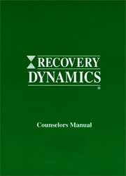 Recovery Dynamics Counselors Manual