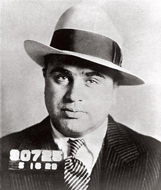 Al Capone in 1929