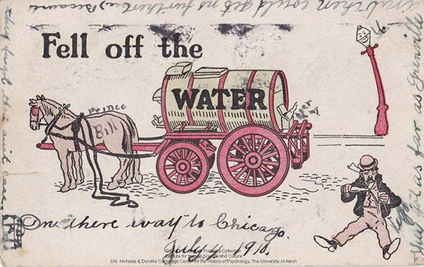 fell off the Water Wagon