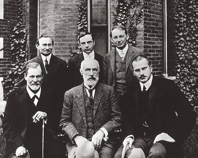 Sigmund Freud, Stanley Hall, Carl Gustav Jung, Abraham Arden