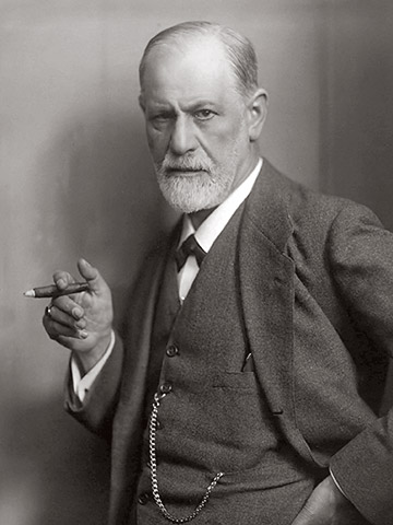 Sigmund Freud, by Max Halberstadt