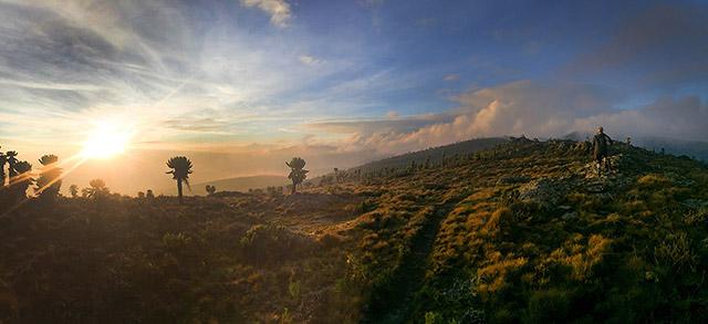 Sunrise on Mount Elgon
